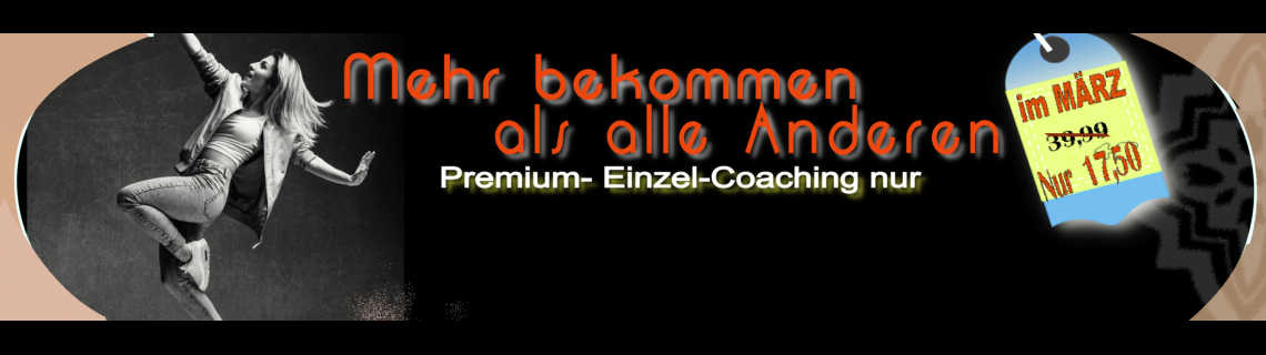 März Angebot Einzel-Coaching