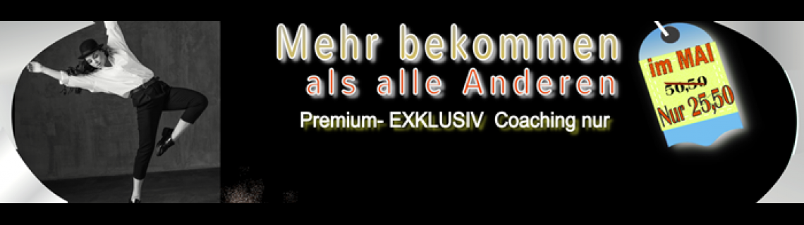 MAI ANGEBOT Premium Exklusiv Training