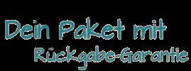 Das Paket mit Rückgabegarantie (Logo)